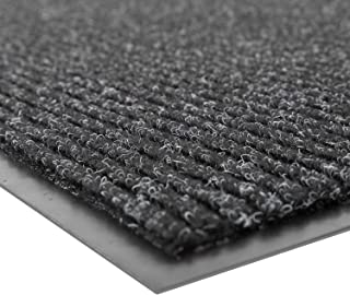 Notrax - 109S0035CH 109 Brush Step Entrance Mat, For Home or Office, 3' X 5' Charcoal