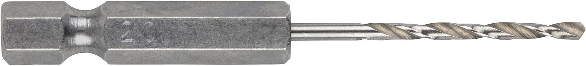 Metaalboor HSS G ø2,0x62mm grijs
