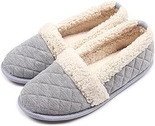 ChicNChic Women Plush House Slippers Ladies Non Slip Indoor Winter Bedroom Shoes
