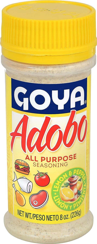 Goya Adobo All Purpose Seasoning Pepper San Antonio Mall 8 OFFicial mail order Lemon With Oz