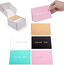 """Outshine 100 Blank Thank You Cards with Envelopes 