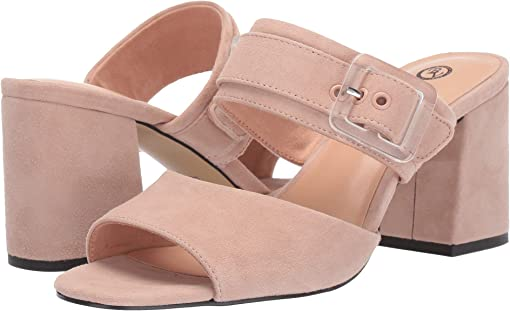 Blush Suede Leather