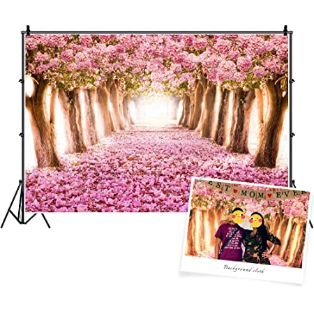 8x6ft,chy245 TCReal Flower Background Photography Studio Flower Sea Scene Baby Birthday Romantic Dream Wedding Photography Background Home Decoration