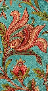 Boston International BF780300 IHR Bronson Pinchot Designs Floral Guest Towel Buffet Paper Napkins, Melissa