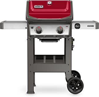Weber 44070001 Spirit II E-210 2-Burner Liquid Propane Grill, Red