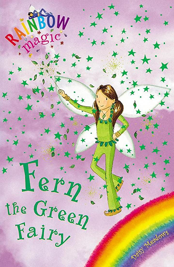 究極の実際に袋Rainbow Magic: Fern the Green Fairy: The Rainbow Fairies Book 4