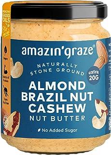 Amazin' Graze ABC Butter (Almonds, Brazil Nuts, Cashews), 180 g