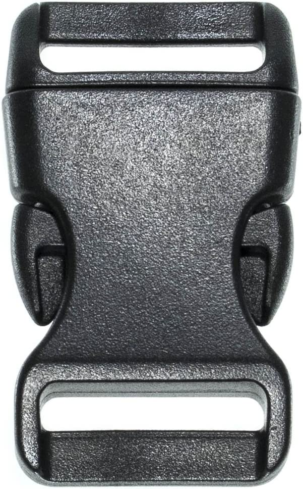 30 Pack Columbus Mall 0.75 supreme Inch Side Release Black Quick Plastic Buckles
