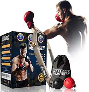 VALANDRES Boxing Reflex Ball Complete Bundle - Premium Reflex Ball Boxing Equipment for Hand-Eye Coordination Training