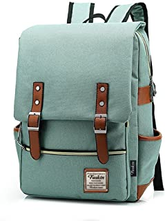 Slim Laptop Backpack for Women, Fashion Travel Rucksack College School Bookbag