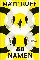 88 Namen: Roman (German Edition) Kindle Edition