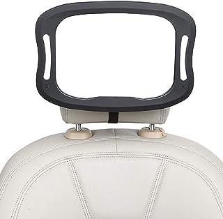 instalaci/ón r/ápida irrompible ovalado y totalmente ajustable negro negro Espejo retrovisor para beb/é