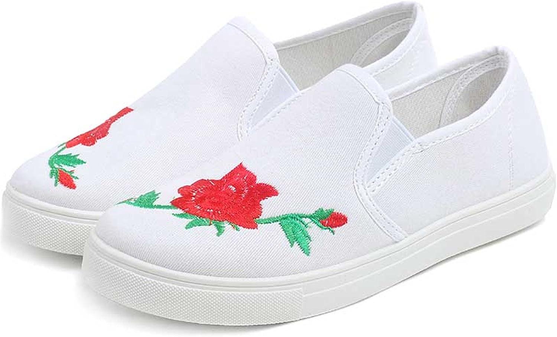 cf5ec8d354fbd Naomiky Women's Canvas shoes Black Flat Platform shoes Ladies ...