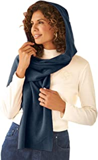 Best luxe fleece hooded scarf Reviews