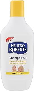 Neutro Roberts - Shampoo 2 in 1, Extra Delicate - 500 ml/16.91 fl.oz
