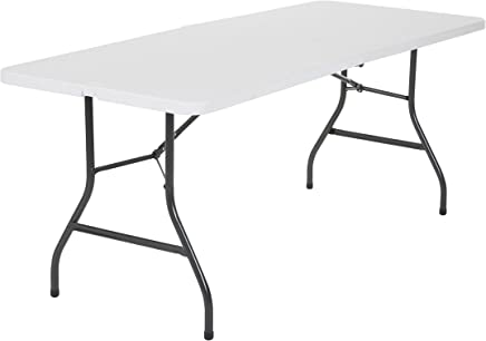 Class Portable Plastic Folding Table   - CLDNBM09, White