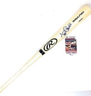 Miguel Cabrera Detroit Tigers Signed Autograph Baseball Bat BLONDE JSA Witnessed Certified