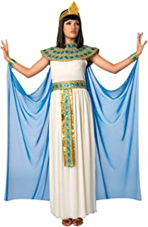 Morph Womens Blue Cleopatra Costume Ancient Egypt Egyptian Princess Dress for Women - X-Large