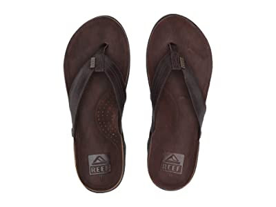 Reef J-Bay III (Dark Brown/Dark Brown) Men