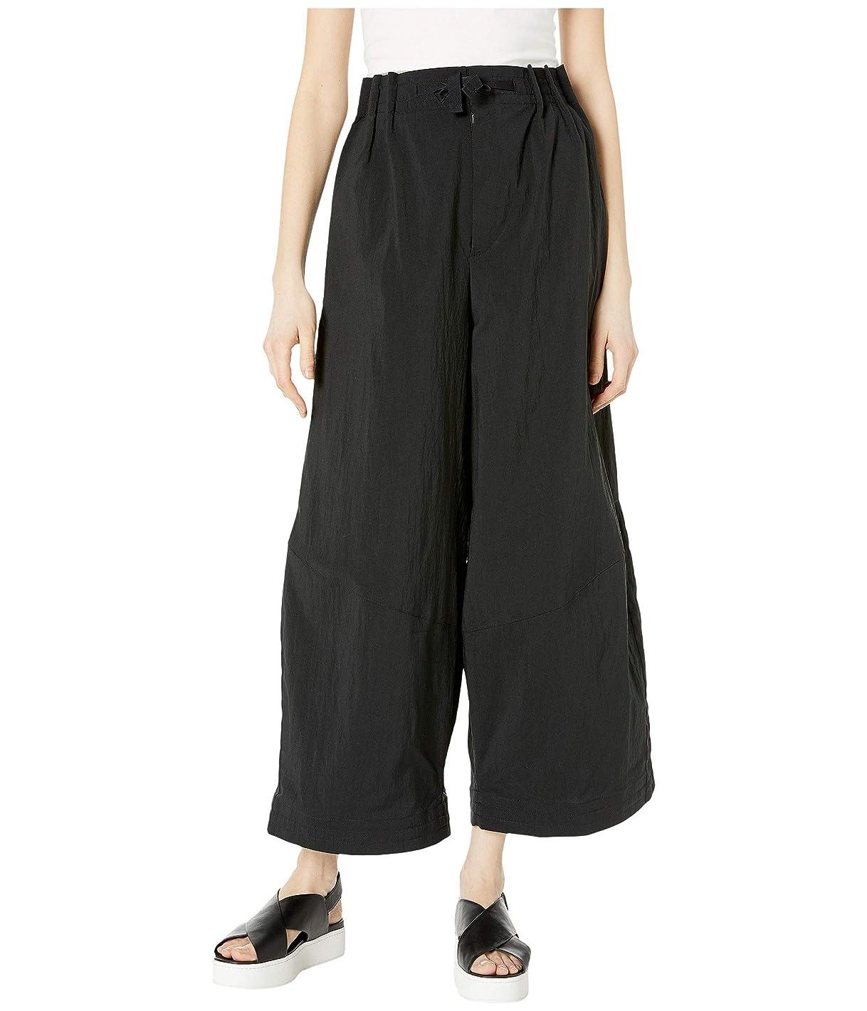 磁石自信がある真向こう[adidas(アディダス)] レディースパンツ?ジャージ?レギンス Nylon Twill Wide Pants Black XS [並行輸入品]