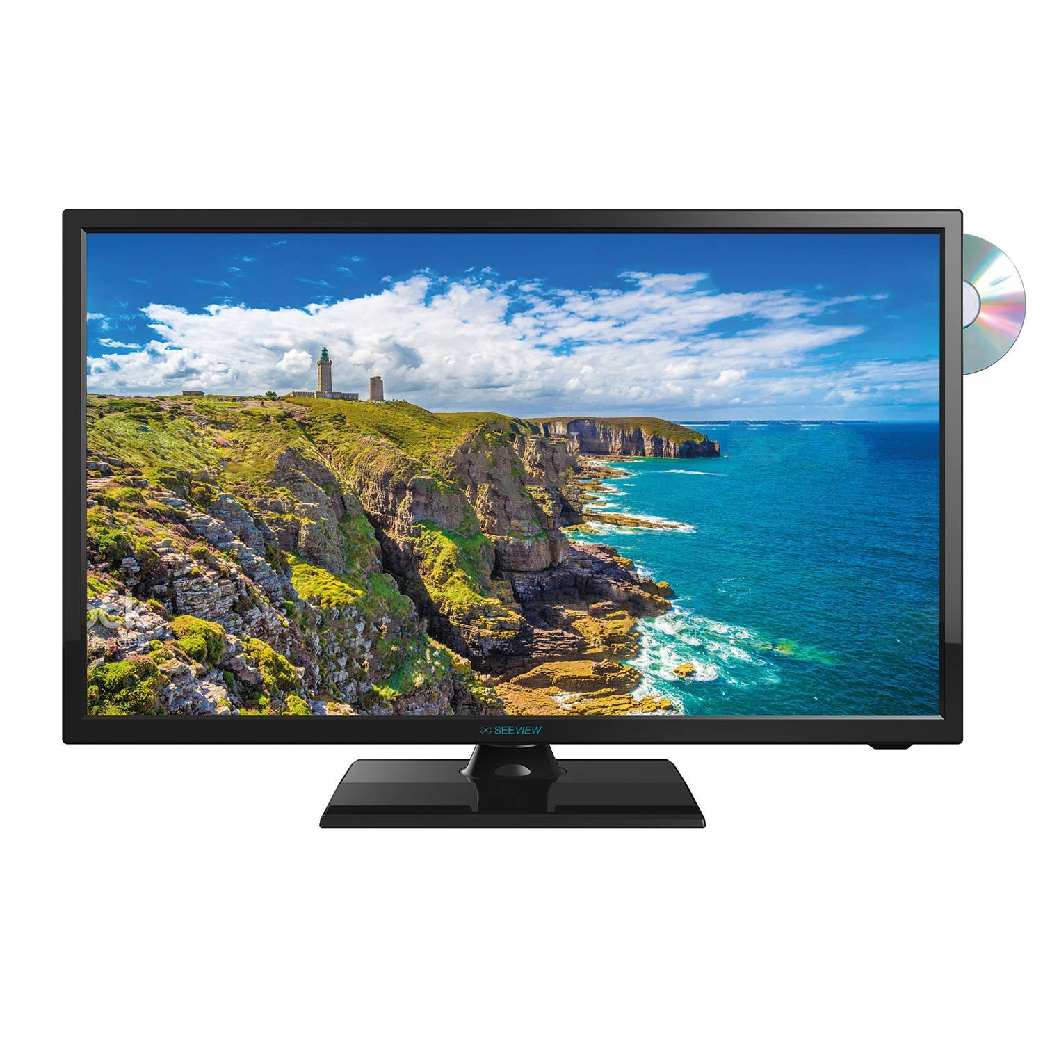 Televisor LED HD 18,5 (47 cm) 12/24 voltios + DVD Seeview ...
