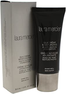 Laura Mercier Silk Cream Moisturizing Photo Edition Foundation, Beige Ivory, 1 Fl Oz