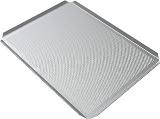 LEHRMANN Plaque perforée à pâtisserie 42,5 x 36 cm Plaque pour pizza biscuits Plaque four AEG Elektrolux Zanker