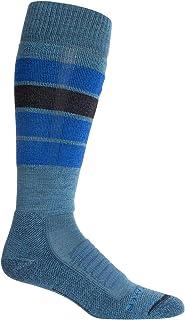 Ski+ Medium OTC Heritage Stripe - Calcetines de esquí para Hombre (Acolchados)
