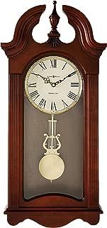 Howard Miller Malia Wall Clock 625-466 – Cherry Wood with Quartz & Single Chime Movement