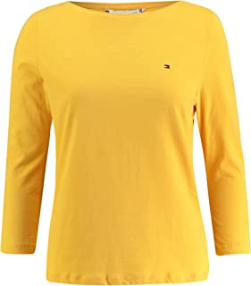 Tommy Hilfiger T-Shirts For Women XL, Yellow WW0WW22668