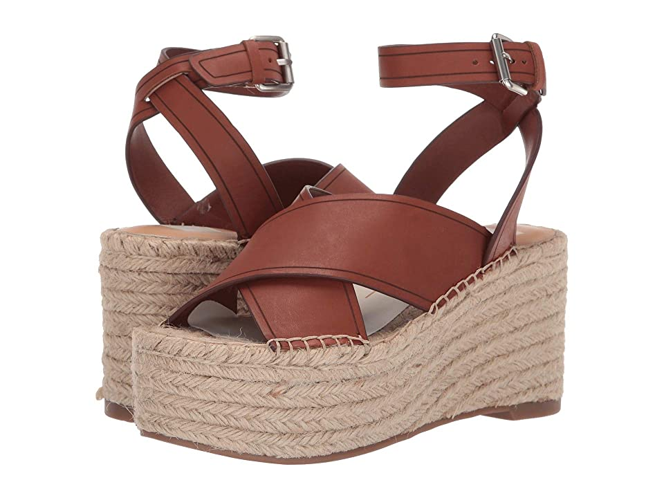 Dolce Vita Carsie (Brown Leather) Women's Shoes