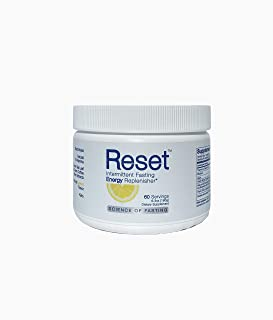 RESET Optimized Fasting Hydration and Energy. High Grade Electrolytes, B-Complex Vitamins, Green Tea Leaf Extract, Green C...