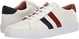 Double Bicolor Stripe Tennis Sneaker