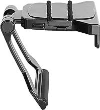 VIVO Black Adjustable Top Shelf TV Clip Mount Holder for Media Box Streaming Devices | Fits Fire TV, Roku 3, Apple TV, and More (Mount-SFTV2)