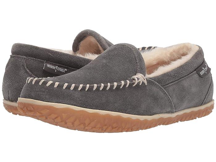 Minnetonka Tempe (Grey) Women's Slippers