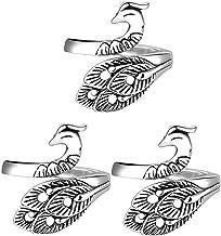 Verstelbare Breien Lus Haak Lus Breien Accessoires, Geavanceerde Phoenix Ring, Breien Vingerhoed, Verstelbare Gehaakte Rin...