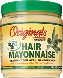 Africa's Best Organics Hair Mayonnaise 15 oz (Pack of 3)