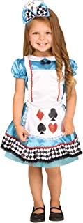 Fun World Wild Wonderland Toddler Costume, X-Large, Multicolor