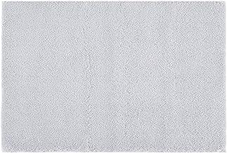 Marshmallow Mildew Resistant Bath Mat, Luxury Solid Washable Microfiber Bathroom Rugs, 20X30, Grey