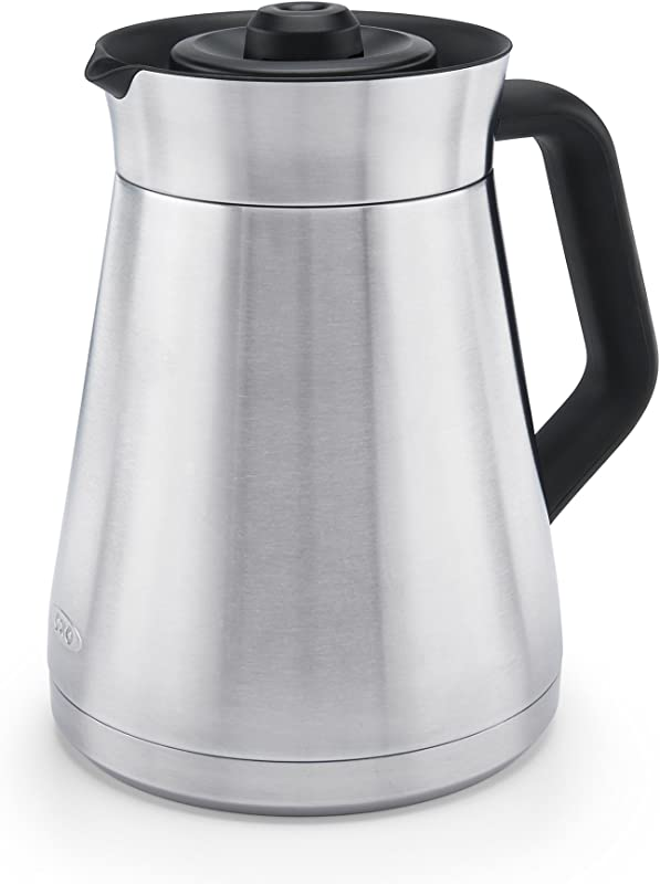 OXO 8715700 On 12 Cup Coffee Maker And Brewing System Replacement Carafe Stainless Steel