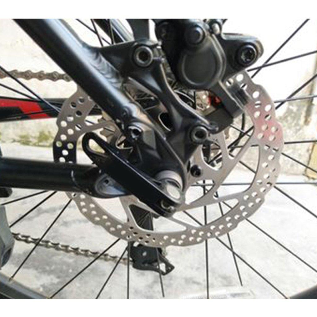 dairyshop 160 mm mecánica bicicleta freno de disco rotor MTB bicicleta de montaña + 6 Tornillos: Amazon.es: Deportes y aire libre