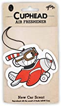 Cuphead Airplane Hanging Air Freshener for Cars   New Car Scent