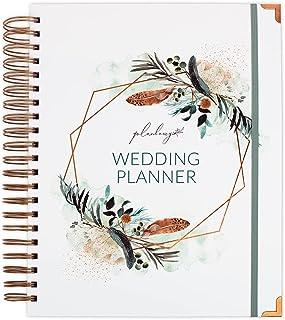 $24 » Planberry Wedding Planner – Wedding Planning Binder with Checklists, Pockets & Calendars – Wedding Organizer Notebook for ...