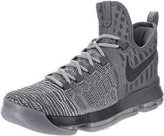 Mens Zoom KD 9 Dark Grey/Wlf Grey Basketball Shoe 10 Men US