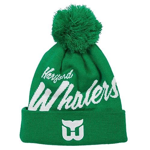 d7eb6228522 Mitchell   Ness NHL Double Up Knit Cuff Pom Beanie Hat