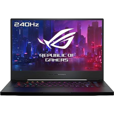 "ASUS ROG Zephyrus S GX502GW-AZ064T - Portátil Gaming de 15,6""FullHD (Intel Core i7-9750H, 16GB RAM, 1TB SSD, GeForce RTX2070-8GB, Windows 10) Metal Negro - Teclado QWERTY español"