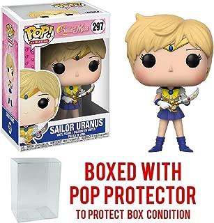 Funko Pop! Anime: Sailor Moon - Sailor Uranus Vinyl Figure (Bundled with Pop BOX PROTECTOR CASE)