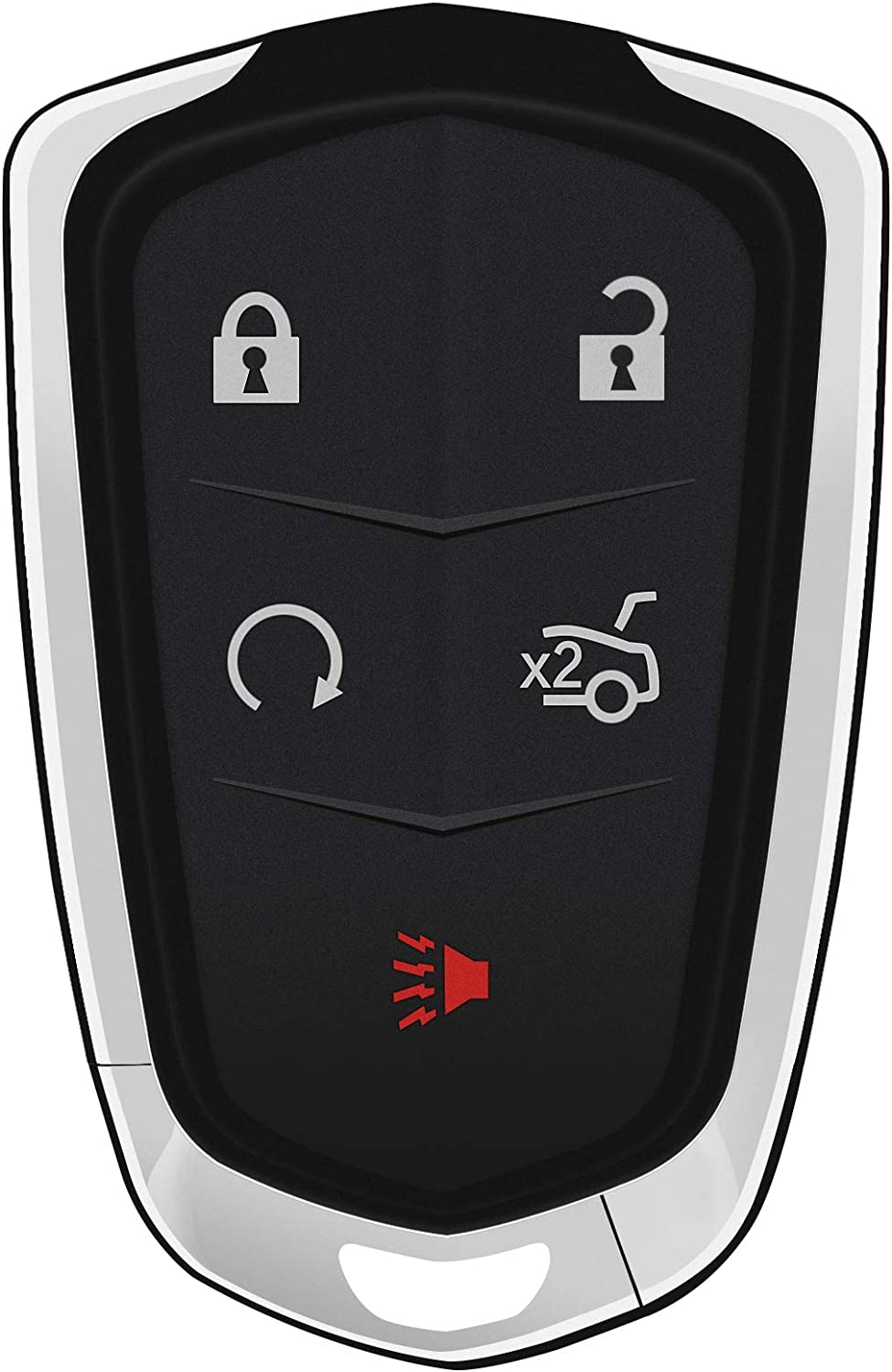 El Paso Mall HelloAuto 5 Denver Mall Buttons Replacement Keyless Key Fob Remote Cas Entry