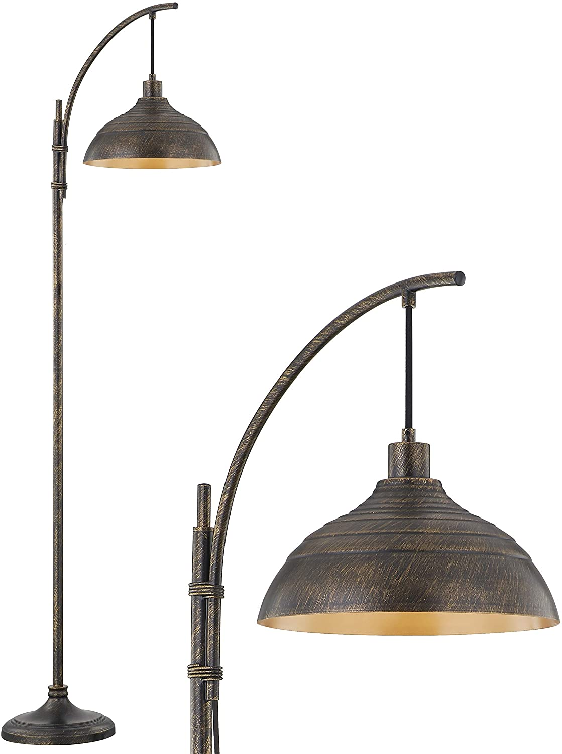 WOXXX Industrial Challenge the lowest Cash special price price Floor Lamp Modern Age Rustic Task in