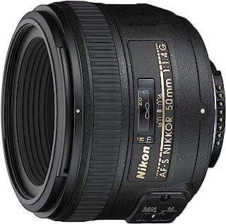 Nikon Nikkor 50mm 1.4G Interchangeable Prime Lens for Nikon Cameras - 2180